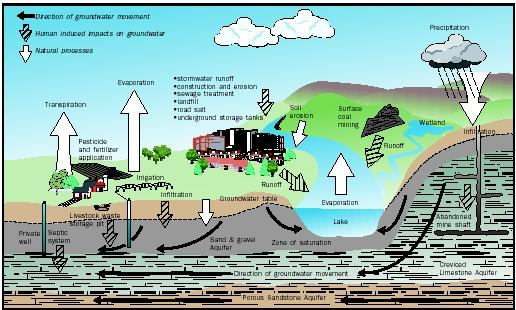 the different types of water pollutants and its dangers Air pollution, water pollution and noise pollution are among the different ways to contaminate the another common type of air pollution is dangerous gases.